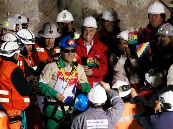 חילוץ הכורים בצ'ילה / צלם: רויטרס